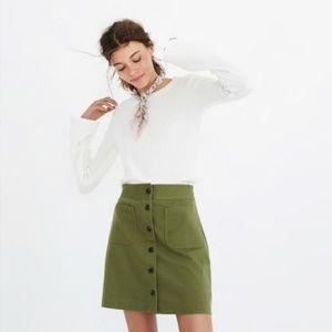 NWT Madewell Station Mini Skirt
